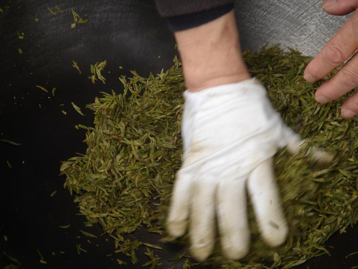 Grüner Tee: Long Jing