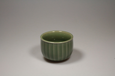 Product image for:Cup Celadon Longquan 1 hoch/eingerillt