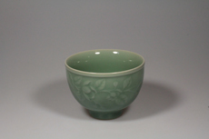 Product image for:Cup Celadon Longquan 2 gross/Blüten