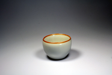 Product image for:Cup Ruyao 5 mit gelbem Rand