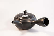 Product image for:Kyusu (Stielkanne) Morisama hoch schwarz (320ml)